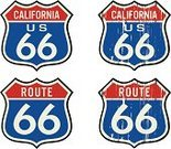 Route 66,Sign,Thoroughfare,Road,California,Retro Revival,USA,1940-1980 Retro-Styled Imagery,Travel,Symbol,Dirty,Old-fashioned,Grunge,Insignia,Religious Icon,Engraved Image,Engraving,Transportation,Travel Backgrounds,Vector Icons,History,Illustrations And Vector Art,Travel Locations