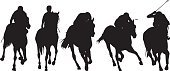 Challenge,Speed,Challenge,Lifestyles,Sport,Animal,Horse Racing,Horse,Silhouette,Dressage,Whip,Illustration,Group Of Objects,Jockey,Vector,Horseback Riding,2015,Riding,Chance Game,70863
