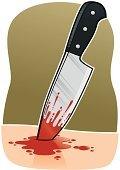 Knife,Blood,Dagger,Domestic Violence,Violence,Splattered,Wound,Death,Crime,Blade,Dead Person,Pain,Human Skin,Physical Injury,Weapon,Forbidden,Place of Burial,Lifestyle,gash,Sharp,Illustrations And Vector Art,Vector Cartoons,Unlawful,Concepts And Ideas,Handle,Modern Life