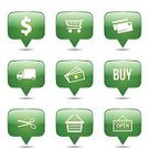 Computer Graphics,Symbol,Sign,Telephone,Shopping Cart,Credit Card,Digitally Generated Image,Design,Internet,Shape,Green Color,Buying,Shopping,Computer Icon,Computer Graphic,Cut Out,Delivering,Illustration,Sale,Buy - Single Word,Vector,Collection,Open Sign,Mobile App,2015,green button,buy online,Cut Price,Talk Balloon,Icon Set,Shopping Icon,Glossy Button