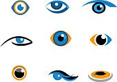 Human Eye,Eyesight,Symbol,Sign,Computer Icon,Eyeball,The Way Forward,Looking At View,Computer Graphic,Looking,Eyelash,Photography Themes,Internet,New Business,Identity,Communication,Business,letterhead,Design Element,Set,Industry,Eyebrow,Connection,Blue,Orange Color,Illustrations And Vector Art,People,Part Of,Vector Icons,Business
