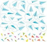 Concepts & Topics,Concepts,Symbol,Freedom,Toy,Airplane,Flying,Sheet,Colors,White Color,Paper,Wind,Childhood,Leisure Games,Playing,Cut Out,Color Image,Paper Airplane,Origami,Illustration,Cartoon,Vector,Lightweight,Sparse,Ideas,2015,Lightweight,60500