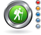 Hiking,Symbol,Hiking Pole,Backpack,Computer Icon,Walking,Men,Outdoors,Bag,Blank,Overweight,Vacations,Metal,Summer,Circle,Curve,Digitally Generated Image,Elegance,Grid,Journey,Hole,Red,template,Silver - Metal,Wire Mesh,Shadow,People Traveling,Empty,Green Color,Orange Color,Cane,Silver Colored,Focus on Shadow,Metallic,Blue,Stick Figure,White Background,Heavy,Recreational Pursuit