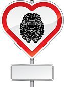 Human Brain,Heart Shape,Love,Emotion,Intelligence,Sign,Road,Human Nervous System,Contemplation,Sensory Perception,Learning,Analyzing,Healthcare And Medicine,Mental Illness,Nostalgia,Street,Education,Narcotic,Communication,Ideas,irrational,Vector,Contrasts,Single Line,Memories,Danger,Ignorance,Warning Sign,Wisdom,Concepts,No Parking Sign,Passion,Skill,Creativity,Warning Symbol,Red,Material,Advice,Efficiency,Blank,Exclusion,Forbidden,Isolated On White,Road Warning Sign,Metal,Message,Imagination,Kicking,Gray,Steel