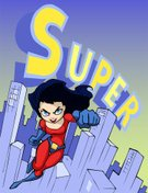Elegance,Background,Females,Cute,Beauty,Skyscraper,Cartoon,Cheerful,Beautiful People,Awe,Illustration,People,Costume,Symbol,2015,Bright,Superhero,Flying,Strength,Heroes,Dressing Up,Muscular Build,Adult,Levitation,Backgrounds,Protection,Speed,Fist,Courage,Fun,60017,Vector,Women,Bright,Cityscape