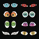 Animal Eye,Human Eye,Cartoon,Eyeball,Animal,Vector,Dark,Backgrounds,Black Color,Religious Icon,Open,Drawing - Art Product,Closed,Abstract,White,Ilustration,Shape,Image,Circle,Symbol,Iris - Eye,Computer Graphic,Colors,Clip Art,Group of Objects,Decoration,Bright,Shiny,Retina,Staring,Vibrant Color,Reflection,Art,Multi Colored,Yellow,Green Color,Blue,Design,Design Element,Isolated-Background Objects,Body,Modern,Animal Backgrounds,Beautiful,Animals And Pets,Gold Colored,Style,Beauty And Health,Isolated Objects