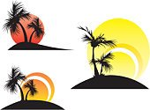 Desert Oasis,Island,Tree,Palm Tree,Coconut,Vector,Hawaii Islands,Tropical Climate,Symbol,Beach,Silhouette,Sunset,Computer Graphic,Backgrounds,Summer,Black Color,Ilustration,Acapulco,Design Element,Idyllic,Sunlight,Day,Relaxation,Paintings,Light - Natural Phenomenon,Leaf,Plant,Heaven,Non-Urban Scene,Branch,Red,Illustrations And Vector Art,Nature,Yellow,Painted Image,Plants,Heat - Temperature,Outdoors,Season,Nature,Climate,Summer,Vector Backgrounds