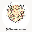 Computer Graphics,Concepts & Topics,Concepts,Romance,Nature,Brochure,Multi Colored,Circle,Modern,Old-fashioned,Tree,Branch,Leaf,Summer,Autumn,Decoration,Computer Graphic,Postcard,Cute,Ornate,Abstract,Illustration,No People,Vector,Banner - Sign,2015,Banner