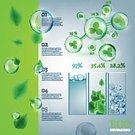 Futuristic,Growth,Shiny,Environment,Nature,Science,Close-up,Sphere,Circle,Tree,Wind,Liquid,Drop,Reflection,Refraction,Blowing,Backgrounds,Clover,Scientific Experiment,Graph,Soap Sud,Abstract,Illustration,Vector,Birch Leaf,2015,Infographic