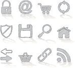 Sketch,Symbol,Icon Set,Drawing - Activity,Religious Icon,House,Internet,Technology,Store,Pencil,Shopping,Computer,Magnifying Glass,Chalk Drawing,Basket,Shopping Cart,Glass - Material,Web Page,@,E-Mail,Safety,Chain,Buy,Padlock,Communication,Computer Network,Security,Iconset,Arrow Symbol,Shield,'at' Symbol,Work Tool,Lock,Security System,PC,Group of Objects,Buying,Connection,Letter,Paint,Floppy Disk,Disk,Keyhole,Retail,Mail,Global Communications,Protection,Downloading,Equipment,Vector Icons,Vector Cartoons,Correspondence,Message,Illustrations And Vector Art