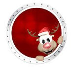 Curve,Santa Claus,Badge,Label,Reindeer,Star Shape,Horizontal,Photography,Certificate,Three Dimensional,Symbol,Insignia,Red,Shape,2015,Cartoon,No People,Circle,Christmas,62221