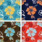 Hawaiian Culture,Pattern,Flower,Hawaii Islands,Hibiscus,Beach,Seamless,Tropical Climate,Textile,Backgrounds,Vector,Leaf,Summer,Wallpaper Pattern,Nature Backgrounds,Vector Backgrounds,Travel Locations,Beaches,Illustrations And Vector Art,Foliate Pattern,Ornate,Nature,Nature
