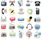 Telephone,Symbol,Computer Icon,Icon Set,Mobile Phone,Internet,Newspaper,Communication,Technology,Television Set,Computer Network,Fax Machine,Radio,Text Messaging,Information Medium,Satellite,Data,Wireless Technology,Global Communications,Vector,Mail,Globe - Man Made Object,Talking,Set,Message,Headset,user,Men,Clip Art,Text,Pen,Shiny,Satellite Dish,Letter,Ilustration,Planet - Space,Series,Color Image,Sphere,Hands-free Device,Modem,Shade,Electrical Equipment,Rss Feed