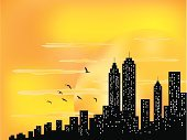 Cityscape,Manhattan,Urban Skyline,City,Silhouette,Built Structure,Illuminated,Sunrise - Dawn,Business,Building Exterior,Wall Street,Real Estate,Construction Industry,Pattern,Skyscraper,Cloudscape,Backgrounds,Loan,Sun,Summer,Urban Scene,Finance,Cloud - Sky,Morning,Design Element,Design,Midday,Tower,Looking At View,Architecture And Buildings,Looking Through Window,Shiny,Sunlight,Scenics,Back Lit,Nature,Vector Backgrounds,Illustrations And Vector Art,Architecture Backgrounds,Copy Space
