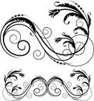 Fretwork,Art Deco,Design,Corner,Swirl,Scroll Shape,Ornate,Victorian Style,Fleuron,Leaf,Black And White,Gothic Style,Frame,Clip Art,Retro Revival,Old-fashioned,Growth,Antique,Vector,Elegance,Decoration,Intricacy,Design Element,Stem,Foliate Pattern,Spiral,Curled Up,Vector Florals,Vector Ornaments,Illustrations And Vector Art,Curve,Collection,Branch,Cartouche