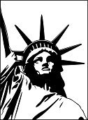 Statue of Liberty,Statue,Patriotism,Freedom,Manhattan,USA,Vector,Monument,Symbol,The Americas,Unity,Sculpture,Illustrations And Vector Art