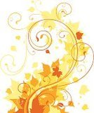 Autumn,Leaf,Backgrounds,Swirl,Vine,Design,Decoration,Plant,Ornate,Symbol,Gold Colored,Vector,Elegance,Yellow,Beauty In Nature,Computer Graphic,Brown,Ilustration,Scroll Shape,Growth,Digitally Generated Image,Curled Up,Color Image,Colors,Floral Pattern,Pattern,Old-fashioned,Victorian Style,No People,Calligraphy