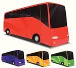 Bus,Mode of Transport,Vector,Road Trip,Passenger,Transportation,Side View,Journey,Travel,Travel Destinations,Transportation,Travel Backgrounds,Illustrations And Vector Art,People Traveling,Land Vehicle,Travel Locations