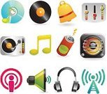 Religious Icon,Podcast,Music,Speaker,Multimedia,Symbol,Megaphone,Icon Set,Headphones,Plastic Disc,Sound,Tower,Musical Note,Battery,CD,Record,Vector,Set,Audio Equipment,Ilustration,Recording Studio,Global Communications,Computer Speaker,Sound Recording Equipment,Communication,Push Button,Sound Mixer,DVD,Bell,CD-ROM,Equipment,Single Object,Web Page,Music Style,Volume - Fluid Capacity,Interface Icons,Ring Tone,Collection,Radio Wave,Illustrations And Vector Art,Arts And Entertainment,Optical Disk,Isolated Objects,Music,Surround Sound