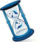 Hourglass,Real Estate,House,Time,Vector,Abstract,Residential Structure,Image,Ideas,Sign,Ilustration,Concepts,Construction,Industry,Illustrations And Vector Art,Concepts And Ideas,Symbol