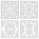 Computer Graphics,Decor,Individuality,Creativity,Carpet - Decor,Intricacy,Book,Pencil,Pattern,Modern,New,Computer Graphic,Adult,Ornate,Coloring,Illustration,Hobbies,Artist,Vector,Collection,Relaxation,60161,2015,Kaleidoscope - Pattern
