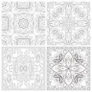 Computer Graphics,Decor,Individuality,Creativity,Carpet - Decor,Book,Pencil,Drawing - Activity,Pattern,Modern,New,Computer Graphic,Adult,Ornate,Coloring,Illustration,Hobbies,Artist,Vector,Collection,Relaxation,60161,2015,Kaleidoscope - Pattern