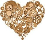 Heart Shape,Gear,Valentine's Day - Holiday,Love,People,Machine Part,Engine,Gold Colored,Vector,Gothic Style,Passion,Shape,Day,Gold,Design,I Love You,Greeting,Ilustration,Holiday,Group of Objects,Copper,Design Element,Turning,Steel,Bronze,Awe,Single Object,Imagination,Style,Painted Image,Bronze,Brass,Set,Solid,Romance,eps8
