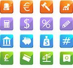 Symbol,Weight Scale,Finance,Computer Icon,Icon Set,Government,Push Button,Interface Icons,Piggy Bank,Satin,Square Shape,Bank,Three-dimensional Shape,Glass - Material,Savings,Banking,Set,Blue,Investment,beveled,Shiny,Sign,Green Color,Ticker Tape,Collection,Percentage Sign,Credit Card,Money Bag,Purple,Pound Symbol,Safe,Pencil,Calculator,Multi Colored,Dollar Sign,Vector Icons,Red,Business Symbols/Metaphors,Variation,Number Sign,Business,Illustrations And Vector Art