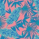 Wallpaper,Nature,Botany,Drawing - Art Product,Plant,Pattern,Tropical Climate,Summer,Palm Tree,Decoration,Backgrounds,Illustration,Floral Pattern,No People,Vector,2015,Seamless Pattern