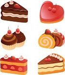 Cake,Slice,Cookie,Pie,Cupcake,Symbol,Dessert,Pastry,Vector,Chocolate,Cheesecake,Afternoon Tea,Chocolate Cake,Swiss Roll,Computer Icon,Ilustration,Cute,Heart Shape,Food,Strawberry,Collection,Icon Set,Gelatin Dessert,Cherry,Variation,Biscuit,Set,Cream,Group of Objects,Sweet Food,Baked,Holiday,Berry Fruit,Icing,Snack,Drawing - Art Product,Color Image,Isolated,yummy,Gourmet,Remote,Isolated On White,White Background,Food And Drink,Illustrations And Vector Art,Vector Icons