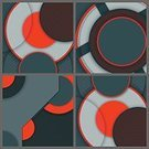 Colors,Red,Pattern,Paper,Decoration,Backgrounds,Art And Craft,Art,Ornate,Abstract,Illustration,No People,Vector,2015