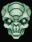 Alien,Astronaut,Space,Vector Cartoons,Illustrations And Vector Art,Ilustration,Roswell