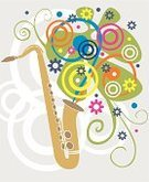 Jazz,Saxophone,Music,Musical Instrument,Popular Music Concert,Blues,Music Style,Symbol,Art,Vector,Spirituality,Ilustration,Sparse,Style,Design,Play,Music,Arts Symbols,Arts And Entertainment,Sound,Composition,Toned Image,Illustrations And Vector Art