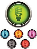 Compact Fluorescent Lightbulb,Light Bulb,Icon Set,Environment,Symbol,Religious Icon,Energy,Blue,Vector,Interface Icons,Design Element,Glass - Material,Red,Green Color,Black Color,Silver Colored,Metal,Modern,Environmental Conservation,Shiny,Set,Illustrations And Vector Art,Sphere,Vector Icons,Compact Fluorescent,Purple,Orange Color,Gray