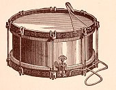Side Drum,Close-up,Composer,Horizontal,Illustration,Orchestra,Musical Instrument,2015,No People