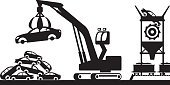 Can,Equipment,Container,Can,Box - Container,Recycling,Business,Environment,Industry,Nature,Social Issues,Transportation,Land Vehicle,Pollution,Garbage,Cleaning,Car,Metal,Aluminum,Copper,Gold,Iron - Metal,Silver - Metal,Construction Site,Computer Icon,Earth Mover,Recycling Center,Gold Colored,Illustration,Scrap Metal,Food Processing Plant,Environmental Conservation,Vector,Construction Machinery,2015,Non-ferrous metals,Business Finance and Industry