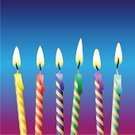 Birthday,Candle,Cake,Anniversary,Vector,Party - Social Event,Fire - Natural Phenomenon,Flame,Ornate,Burning,Celebration,Event,Blue,Green Color,Red,Birthdays,Holidays And Celebrations,Yellow,Wax