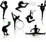 Gymnastics,Silhouette,Child,Sport,Symbol,Little Girls,Creativity,Exercising,Jumping Rope,Jumping,Plastic Hoop,Vector,Education,People,Professional Sport,Small,Ilustration,School Gymnasium,Teenager,Ball,Childhood,Balance,Strength,Healthy Lifestyle,Human Muscle,Black Color,Flooring,Ethnicity,Individual Event,Event,Adolescence,Competition,Elegance,People,Illustrations And Vector Art,Sports And Fitness