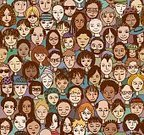 People,Event,Happiness,Individuality,City,Variation,Human Body Part,Human Head,Human Face,Cheerful,Human Hand,Drawing - Art Product,Multi-Ethnic Group,Audience,Crowd,Smiling,Drawing - Activity,Family,Multi Colored,Pattern,Decoration,Backgrounds,Repetition,Fun,Spectator,Adult,Young Adult,Art And Craft,Art,Waiting In Line,Global Communications,Pencil Drawing,Illustration,Cartoon,Community,Group Of People,Large Group Of People,Men,Young Men,Women,Young Women,Doodle,Vector,Merchandise,Collection,Adults Only,Background,2015,Global,Seamless Pattern,60595,Fashionable