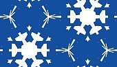 Monochrome,Eternity,Christmas,Blue,Pattern,Paper,Winter,Snowflake,Backgrounds,Wrapping Paper,Ornate,Abstract,Illustration,No People,Vector,Backdrop,Monochrome,2015,Clip Art,Seamless Pattern