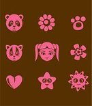 Panda,Paw,Bear,Footprint,Human Face,Domestic Cat,Religious Icon,Child,Symbol,Animal,Cute,Heart Shape,Human Head,Little Girls,Star - Space,Computer Icon,Flower,Vector,Icon Set,Pink Color,Sparse,Sun,Group of Objects,Simplicity,Modern,Human Hair,Kitten,Love,Ilustration,Design Element,Smiling,Design,Set,Ponytail,Beauty,Characters,Monochrome,Animal Head,Symmetry,Female,Brown,Beauty In Nature,Nature,Smooth,Elegance,Collection,Star Shape,Babies And Children,Flowers,Baby Animals,Style,Animals And Pets,Lifestyle,Nature