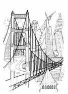 New,Famous Place,Computer Graphics,Gate,Outdoors,Travel Destinations,Ornate,Tower,International Landmark,Francisco,City,Creativity,Gold Colored,Illustration,Symbol,Tourism,Traffic,2015,Outline,California,Computer Graphic,Pattern,Travel,White Color,Urban Skyline,Building Exterior,Vertical,Drawing - Activity,Bridge - Man Made Structure,Built Structure,Downtown District,Bay of Water,Gold,Abstract,60595,City Life,Modern,Black Color,Design,Imagination,Architecture,Cityscape