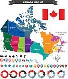 Map,Canada,Direction,Famous Place,Canadian Flag,Pointer Stick,Model Kit,Illustration,Vector,Travel,Cartography,Region,2015,Infographic,Cartography,canadian map,Design Element,268399