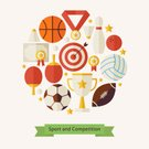 Concepts & Topics,Soccer,Cup,Volleyball - Ball,Art And Craft,Recreational Pursuit,Art,Ideas,Shuttlecock,Trophy,Sign,Equipment,Military Target,Leisure Activity,Exercising,Success,Volleyball - Sport,Healthy Lifestyle,Activity,Winning,First Place,Collection,Multi Colored,Arranging,Ball,Illustration,98212,Leisure Games,Bowling Ball,American Football - Sport,Icon Set,Computer Icon,Symbol,Ten Pin Bowling,2015,Sport,Basketball - Ball,American Football - Ball,Flat,Competitive Sport,Tennis,Pattern,Circle,Athlete,Badminton,Sports Team,Education,Sports Target,Sphere,Arrow Symbol,Soccer Ball,Bowling Pin,Backgrounds,Teamwork,Basketball - Sport,Competition,Concepts,Abstract,School,Star Shape,60983,Table Tennis,Medal,Vector,Design,60500