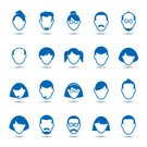 Girls,Females,Boys,Blue,Collection,Men,Illustration,Business Person,People,Used,Icon Set,Computer Icon,Symbol,2015,Internet,Avatar,White Color,Adult,Simply,Social Issues,Teamwork,Business,Vector,Women,Occupation