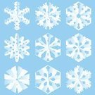 Snowflake,Paper,Craft,Snow,Winter,Folded,Holiday,Decoration,Ornate,March,Christmas Decoration,Cold - Termperature,Vector,January,Season,Holidays And Celebrations,Christmas,Winter,Nature,Vector Ornaments,Illustrations And Vector Art,December,February,Blizzard