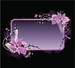 Pink Color,Purple,Black Color,Backgrounds,Butterfly - Insect,Flower,Single Flower,Floral Pattern,Frame,Gothic Style,Swirl,Design,White,Dirty,Dark,Grunge,Growth,Ornate,Ilustration,Design Element,Decor,Elegance,Leaf,Splashing,Decoration,Falling,Blue Darter Dragon Fly,Spray,Flowing,Curve,Copy Space,Lullaby,Vector Ornaments,Vector Backgrounds,Illustrations And Vector Art,Vector Florals