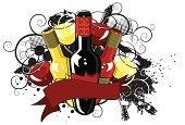 Wine,Alcohol,Wineglass,Wine Bottle,Grunge,Drink,Black Color,Backgrounds,Port Wine,Red Wine,Merlot Grape,Glass,Pinot Noir Grape,White Riesling Grape,Chardonnay Grape,Illustrations And Vector Art,Alcohol,Drinks,Food And Drink,Yellow,White Wine,Cabernet Sauvignon Grape,Red,Shiraz Grape