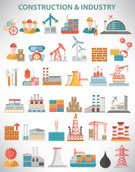 Construction Industry,Illustration,2015,Engineer,Airport,Factory,Vector