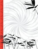 Japanese Culture,Bamboo Shoot,Bamboo,East Asian Culture,Frame,Backgrounds,Design,China - East Asia,Feng Shui,Bamboo Leaf,Swirl,Asia,Floral Pattern,Decoration,Leaf,Ilustration,Chinese Culture,Computer Graphic,Branch,Silhouette,Design Element,Nature,Grass,Tropical Bush,Twig,Tropical Tree,vector illustration,Beauty In Nature